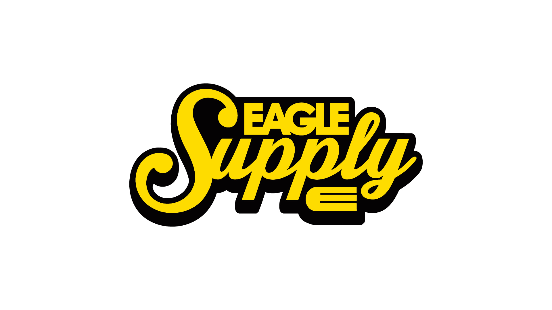 Wallpaper Eagle Supply script logo