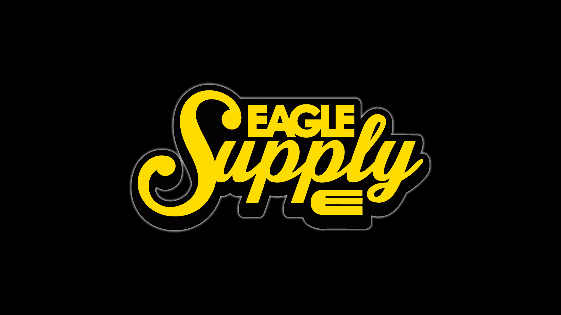 Wallpaper Eagle Supply badge logo