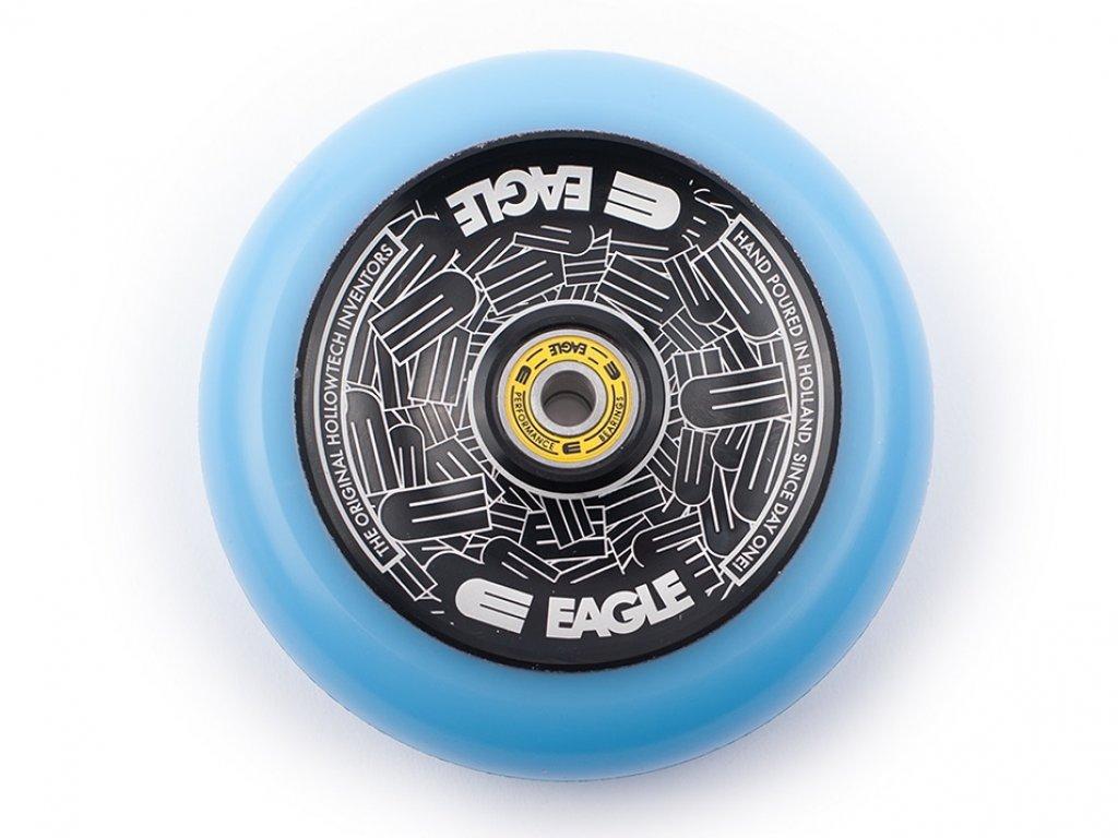 115mm Single Scooter Wheel Eagle Supply Black-Blue Standard Hollowtech
